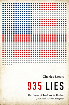 Book Cover: 935 Lies by Charles Lewis